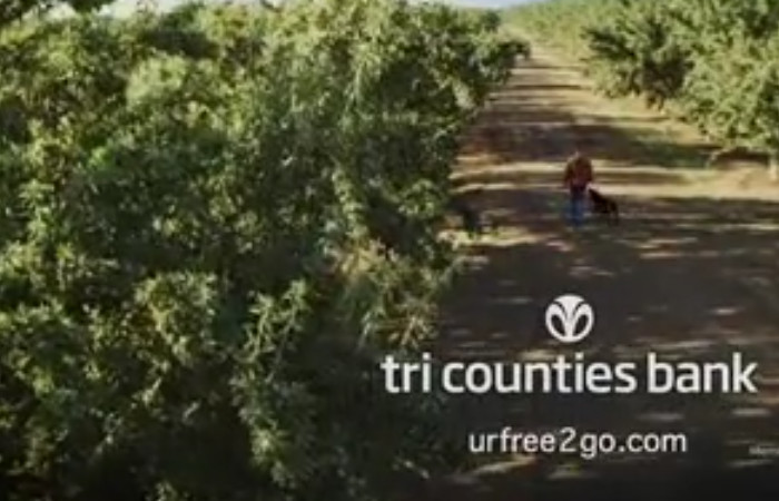 Tri-Counties Bank – Bike Shop (Brand Campaign)